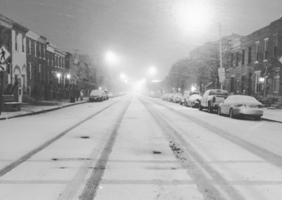 Snow Day - E. Fort Avenue