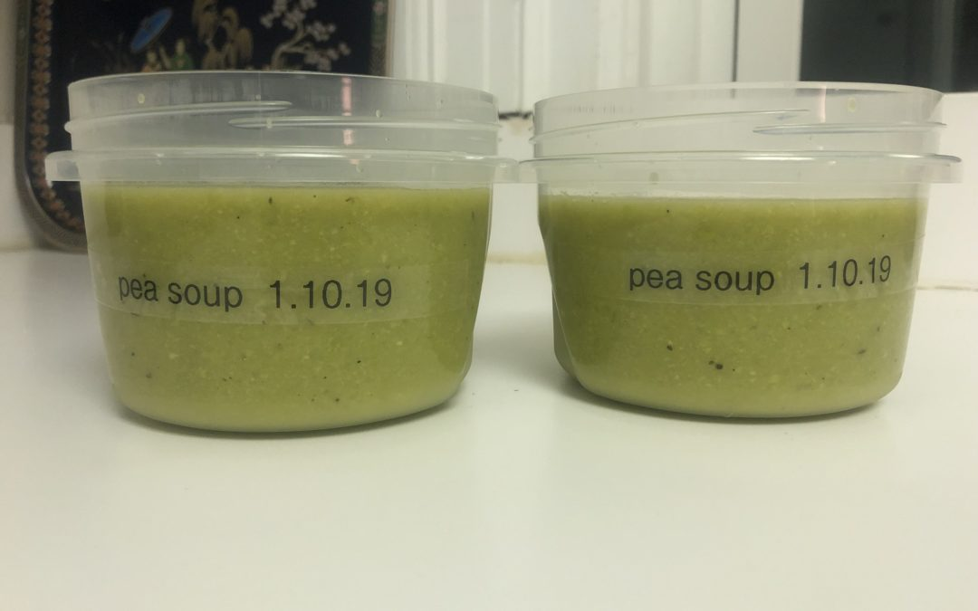 5 Ingredient Green Vegan Pea Soup – Recipe 3 of 365