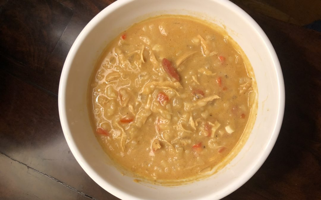 West African Peanut Chicken Soup – Recipe 1 of 365