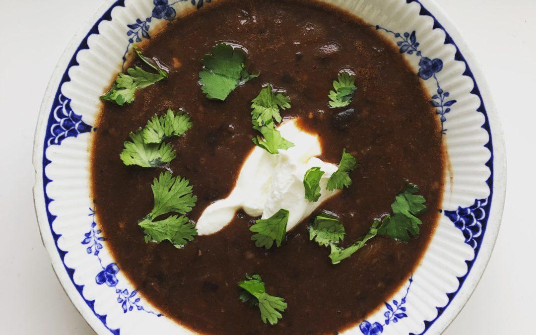 Black Bean Soup – Recipe 7 of 365