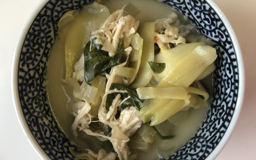 Chicken Spinach Artichoke Soup – Recipe 19 of 365