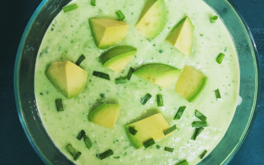 Chilled Cucumber-Avocado Soup – Recipe 43 of 365