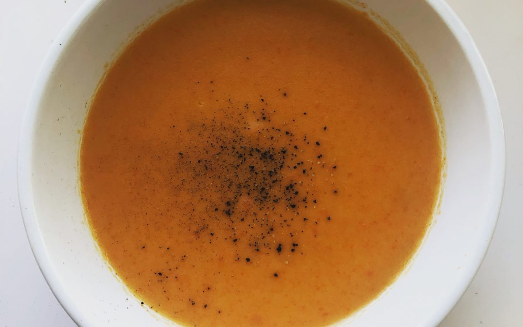 Irish Carrot Soup – Recipe 36 of 365