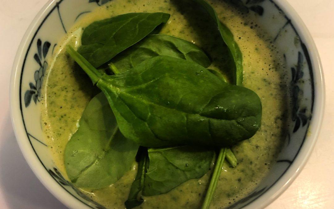 Thai Coconut Broccoli Soup – Recipe 22 of 365