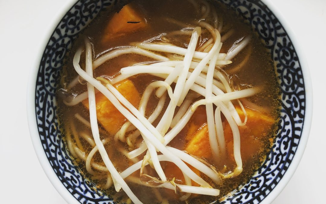 Sweet Potato Sriracha Noodle Soup – Recipe 97