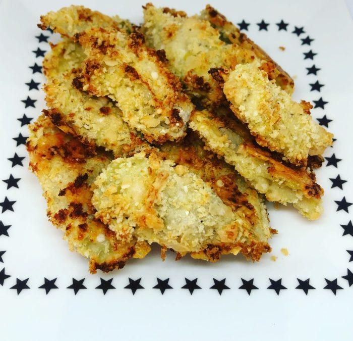 Crispy Parmesan Roasted Artichoke Hearts – Recipe 136