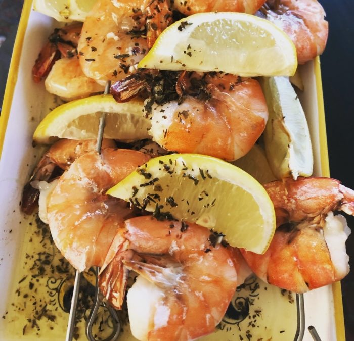 Lemon Garlic Shrimp Kabobs – Recipe 146