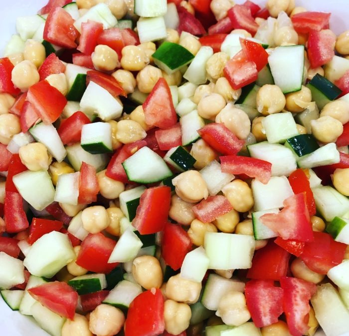Vegan Chickpea Salad – Recipe 149