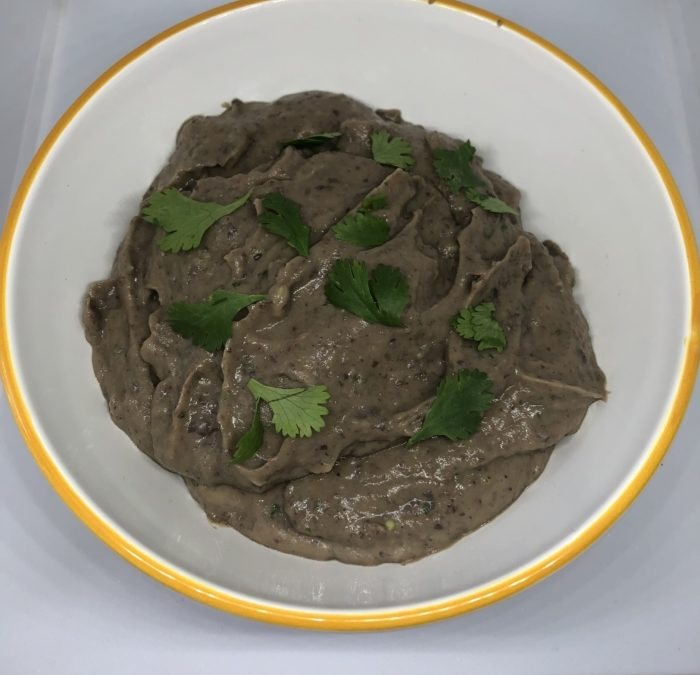 Black Bean Hummus with Avocado – Recipe 143