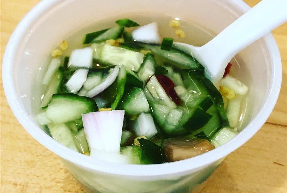 Thai – cucumber