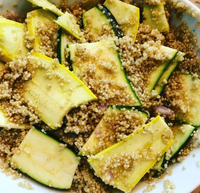 Marinated Summer Squash Salad Recipe