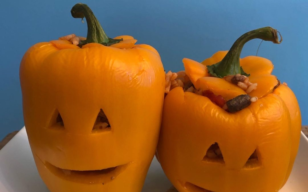 Stuffed Pepper Jack O Lanterns – Recipe 281