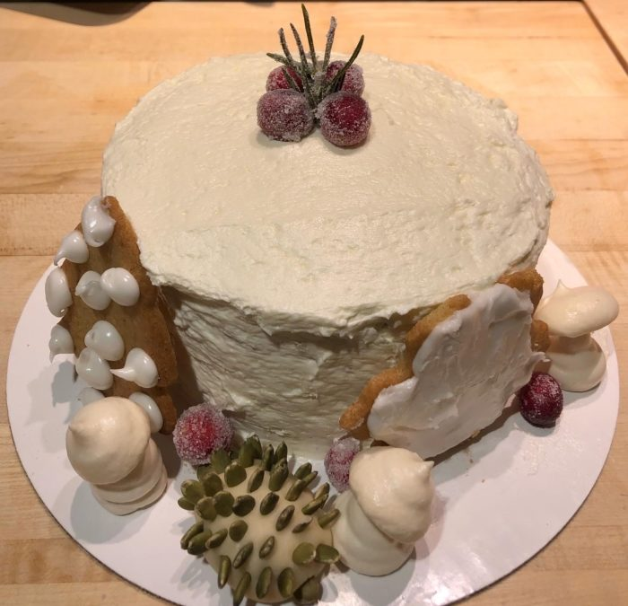 Winter Wonderland 3 Layer Cake – Recipes 290 – 293