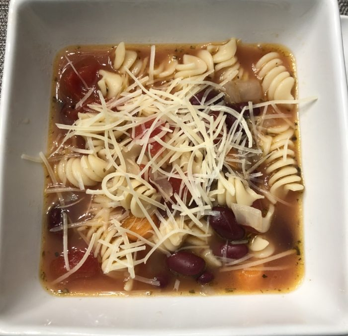 Quick & Easy Minestrone Soup – Recipe 1