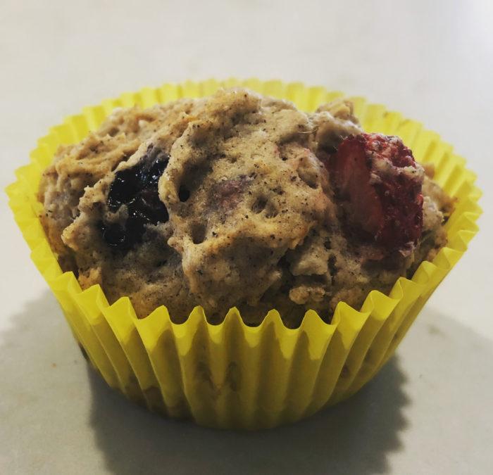 Tri-Berry Muffins – Recipe 15