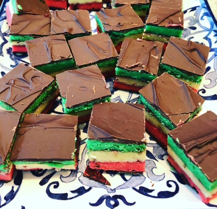 Italian Rainbow Cookie – Recipe 42